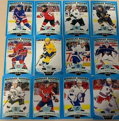 2019-20 UD O-pee-chee OPC update BLUE cards u pick/ finish / complete your set