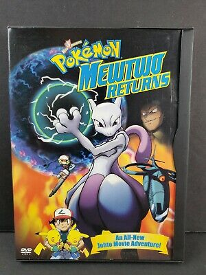 Pokemon: Mewtwo Returns (DVD, 2001) SNAPCASE Movie Annimated Cartoon Nintendo