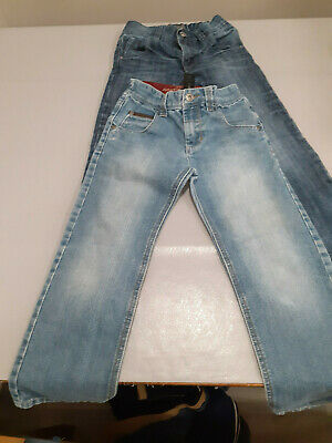 2 Pair Boys NEXT Straight Leg Jeans Size 7 Years