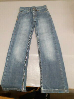 Pair Boys Ted Baker Straight Leg Jeans Size 7 Years