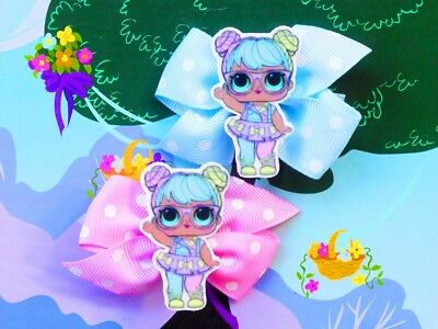LOL Surprise Bon Bon Inspired Handmade Hair Clips Series 2 Cosplay Rare Doll Toy