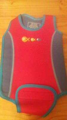 Babies wetsuit 6 to 12 months Mothercare