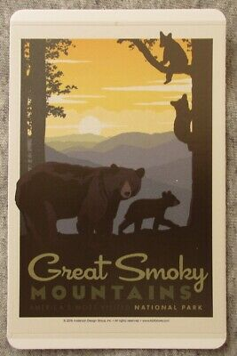 Great Smoky Mountains National Park Vinyl Sticker New