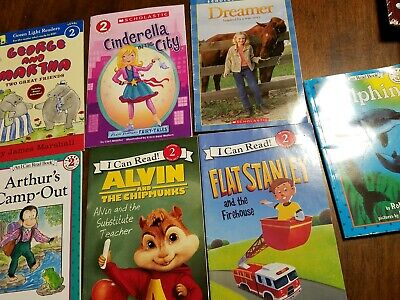 GUC set of 7 books level 2 readers mixed lot