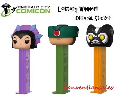 *Official Eccc 2020 Funko Pez Masters Of The Universe Tri-Klops Stinkor Evil-Lyn