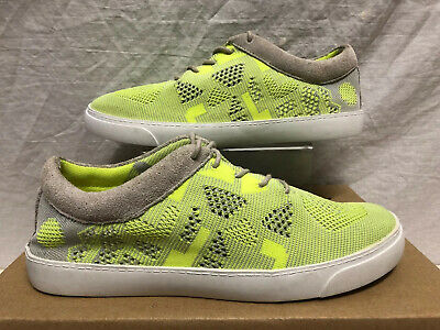 Clarks Somerset Green Textile Trainer Shoe Size 5.5 Eu 39 Worn Once