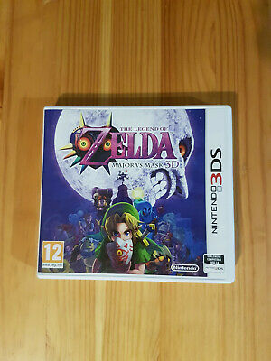 Jeu Nintendo 3Ds The Legend Of Zelda Majora's Mask 3D (Complet Vf)
