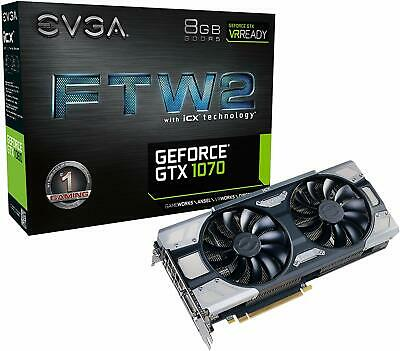 EVGA Nvidia GeForce GTX 1070 icx🔥 FTW2 🔥 8GB GDDR5 Graphics Card - SHIPS ASAP