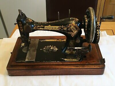 Victorian 1874 Singer Vibrating 28K Sewing Machine Working  Model No13674149