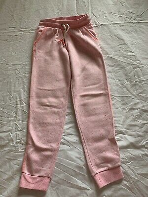 Pink Tracksuit Bottoms H&M Age 6-7