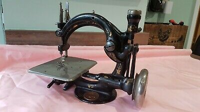 WILLCOX & GIBBS SEWING MACHINE A548817 Approx 1889