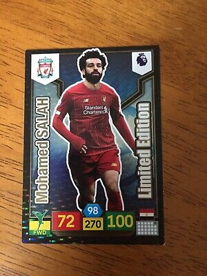 Panini Adrenalyn Xl Premier League 2019/20 Limited Edition Salah Liverpool