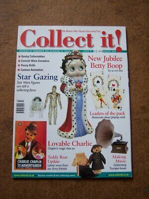 Collect It! #61 Royal Doulton Charlie Chaplin Tressy Star Wars August 2002