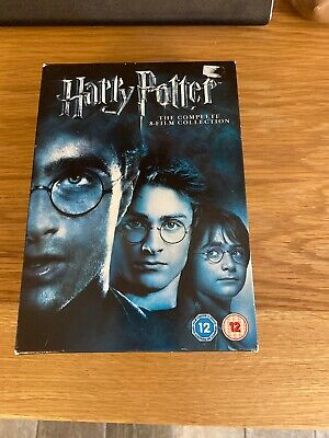 harry potter dvd 1-8 box set complete collection