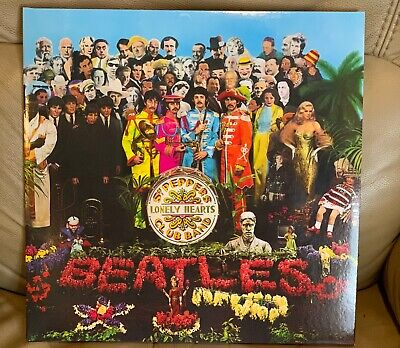 THE BEATLES Sgt. Pepper's Lonely Hearts Club Band 180g VINYL LP NEW