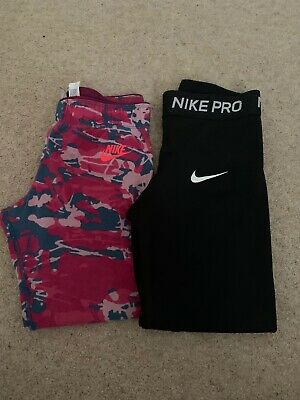 Girls Nike Cropped Leggings Age 10-12