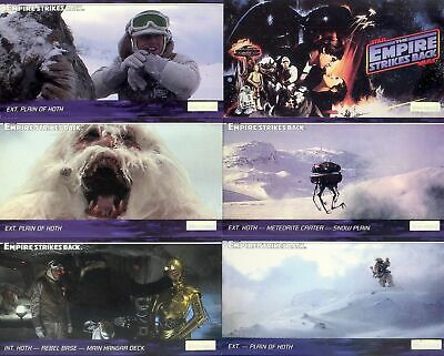 Star Wars Widevision ESB Empire Card BULK Lot of 108 of 144 - Topps 1995 - NM