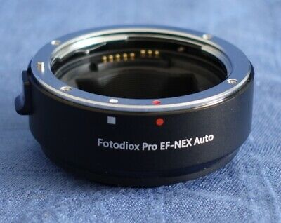 Fotodiox Lens Mount Adapter Pro EF-NEX Auto - Excellent Condition
