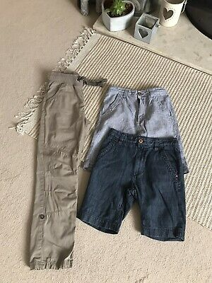 Boys Trouser / Shorts Summer Holiday Bundle Aged 9 - Includes NEXT