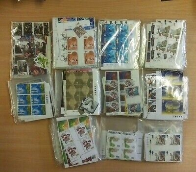 £1000 face value stamps sorted in bags of 100, brand new  at 30% discount £700