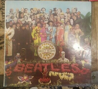 The Beatles Sgt Peppers Lonely Hearts Club Band vinyl LP First Edition