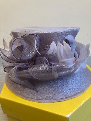 Peter Bettley Lilac Purple lady hat