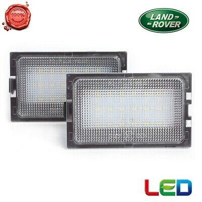 Coppia Luce Targa A Led Bianco Plafoniere 18Smd X Land Rance Rover Discovery 3