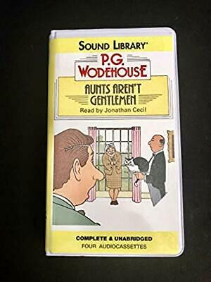 Aunts Aren't Gentlemen P.G. Wodehouse (Audiobook Cassette)