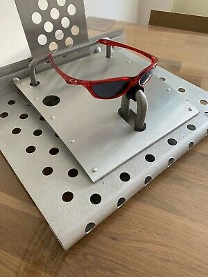 Authentic Oakley Sunglasses Half pint Mint Condition Crystal Red.