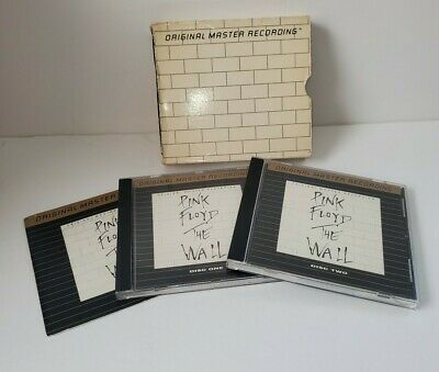 Pink Floyd The Wall 2 Disc UDCD Gold CD Set - Free Shipping!
