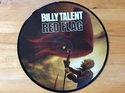 """Billy Talent Red Flag 7"""" Vinyl Single - picture disc"""