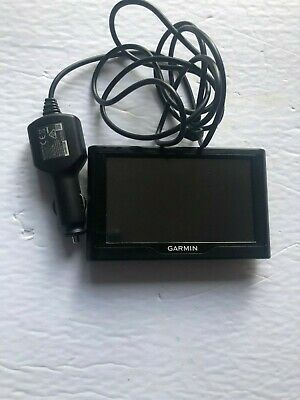 Garmin 58LMT GPS Navigation With Car Charger