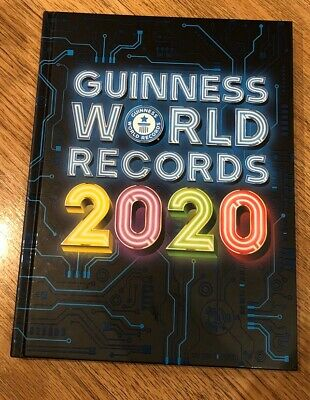 guinness world book of world records 2020 - Mint - New