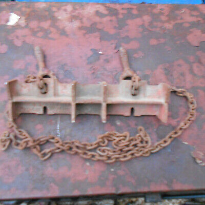 Ridgid 461 Pipe Chain Welding Support Vice Used Good Condition