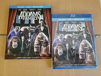 LIKE NEW!! - The Addams Family: w/Mint Slipcover (Blu-ray & DVD) No Code