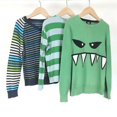 Ted Baker Jumper Bundle 6-7 Years H&M Bright Green Spring