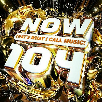 NOW THAT'S WHAT I CALL MUSIC! 104 (newest NOW Album) Sealed CD