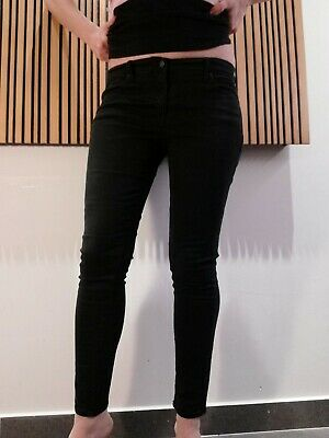 GAP black leggings jeans skinny size 30- uk12