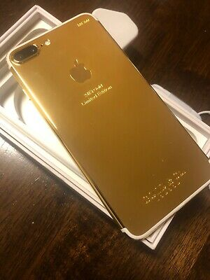 Apple iPhone 7 Plus - 32GB - 24k Gold Plated (Unlocked) A1784 (GSM)