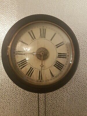 Vintage / Antique Post Office Wall Clock