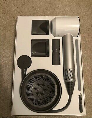 Dyson Supersonic 1600W Hair Dryer - White/Silver (304834-01)
