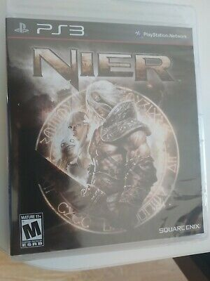 New - Nier -  Ps3 Playstation 3 - Usa Playable In English