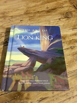 Hyperion - The Art Of The Lion King - Disney Miniature Series - Hardback - Mint