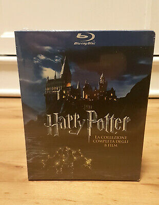 Harry Potter 1-2-3-4-5-6-7-8 Bluray Blu-ray Deutsch IT Box Complete Collection