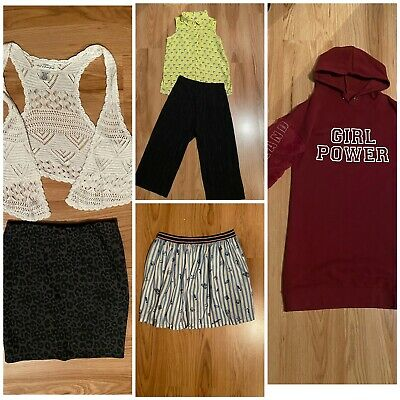Girls Bundle Age 9-10 Years River Island, New Look, Next, 6 Items
