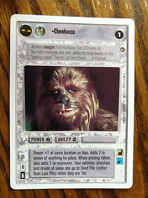 Star Wars CCG Reflections II Chewbacca Protector NrMint-MINT SWCCG