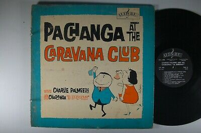 CHARLIE PALMIERI and His Charanga La Duboney LATIN LP Alegre