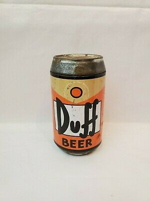 The Simpsons Duff Beer Can / Container. 2002 Twentieth Century Fox - No Cards.