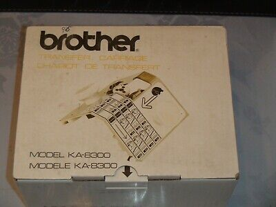 Knitting Machine Accessory Brother Transfer Carriage Ka8300 (2)