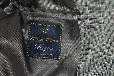 Brooks Brothers Silk Linen Wool Regent men's Blazer 46L  Made in Italy 2 Btn